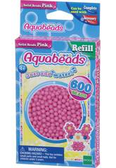 Aquabeads Pack Perline Solide Rosa Epoch Para Imaginar 32588