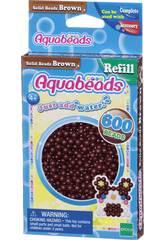 Aquabeads Pack Abalorios Sólidos Marrón Epoch Para Imaginar 32598