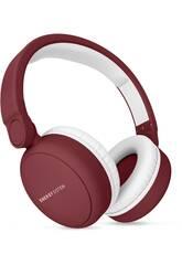 Auriculares Headphones 2 Bluetooth Ruby Red Energy Sistem 44579