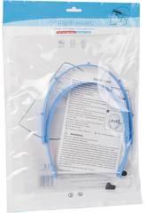 Máscara Ecrã Segurança com Plástico