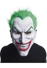 Joker-Maske mit Haar Rubies 201292