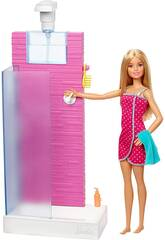 Barbie Mobilier Douche Mattel FXG51
