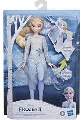 Frozen II Elsa Découverte Magique Hasbro E8569