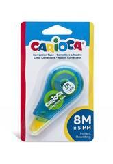 Corrector Blister Tape 8 m. Carioca 42088