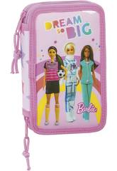 Plumier Doble 28 Piezas Barbie Dreamer Safta 412010854