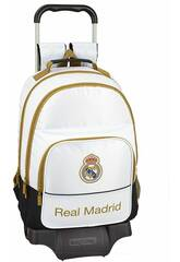 Sac à Dos avec Chariot Real Madrid 1er Équipement 19/20 Safta 611954863
