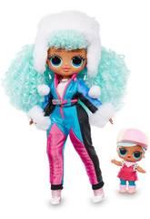 LOL Surprise OMG Serie Winter Chill Bambola Icy Gurl Giochi Preziosi LLUE3100