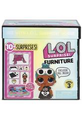 LOL Surprise Furniture Pack Com Boneca Série 3 Giochi Preziosi LLUC8000