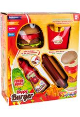 Happy Burger Set 4 Pièces
