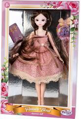 Poupée à La Japonaise 29 cm. avec Robe Rose avec des Taches