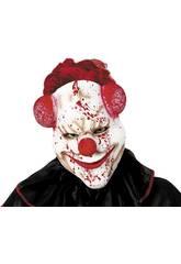 Máscara de Palhaço Sangrento Rubi S5164