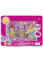 PinyPon New Look Pack 4 Figure Famosa 700015571