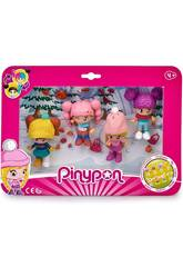 Pin y Pon Pack 4 Figure Schnee Famosa 700015771