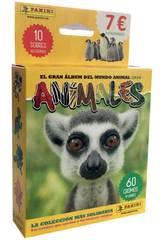 Animaux 2020 Pack 10 Enveloppes Panini
