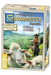 Carcassonne Espansione Colline e Pecore Devir BGCOVE