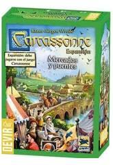 Carcassonne Espansione Mercato e Ponte Devir BGCARME