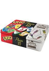 Uno, Phase 10 und Snappy Dressers Mattel FFK01