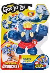 Heroes Of Goo Jit Zu Figura Gigatusk Bandai 41044