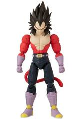 Dragon Ball Super Figur Deluxe Vegeta Super Saiyan 4 Bandai 36193