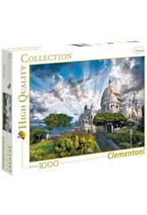 Puzzle 1000 Montmartre Clementoni 39383