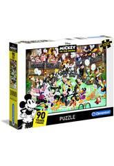 Puzzle 1000 Mickey Mouse 90 Anniversario Clementoni 39472