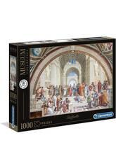 Puzzle 1000 Raffaello: La Escuela de Atenas Clementoni 39483