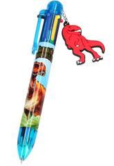 Dino World Penna a 6 Colori 5146