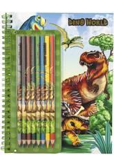 Dino World Libro de Colorear 6852