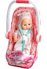 Bébé Licorne 40 cm. avec Poussette