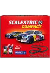 Scalextric Compact Circuito Crazy Rally C10306S500