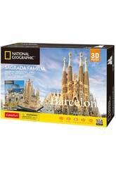 National Geographic Puzzle 3D La Sagrada Familia World Brands DS0984H