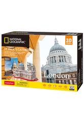 National Geographic Puzzle 3D St. Paul's Cathedral World Brands DS0991H