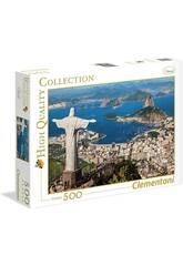 Puzzle 500 Río de Janeiro Clementoni 35032