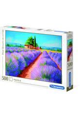 Puzzle 500 Aroma de Lavanda Clementoni 35073
