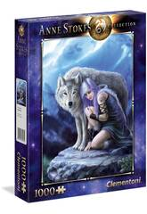 Puzzle 1000 Anne Stokes Protector Clementoni 39465