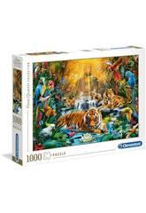 Puzzle 1000 Mystic Tigers Clementoni 39380