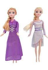 Princesas del Hielo Set Dos Muñecas y Accesorios
