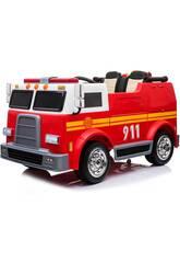 Camion de Pompier à Batterie12v. Télécommande