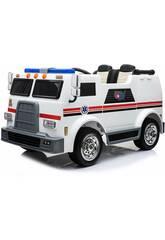 Camion à Batterie Ambulance 12v. Télécommande
