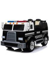 Camión Batería Furgón Policial 12v. Radio Control