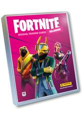 Fortnite Reloaded Official Tradings Cards Schedario con 3 bustine Panini 8018190008128