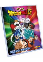 Dragon Ball Super Staks Mega Pack Schedario, 2 bustine e Tavolo da Gioco Panini 8018190011883