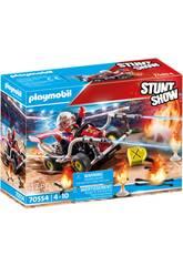 Playmobil Stuntshow Fireman Kart Kart 70554