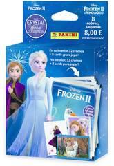 Frozen II Crystal Ecoblister 8 Sobres Panini 003987KBE8