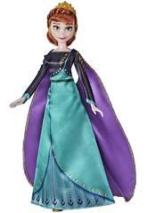 Frozen II Regina Anna bambola Hasbro F1412