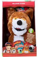 La Ferme de Zénon Marionnette musicale Lobo Beto Bandai AR84702