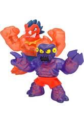 Heroes of Goo Jit Zu Package 2 Figurines Blazagon Vs Redback Bandai CO41111
