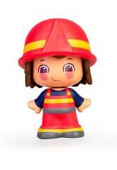 Figura Pin y Pon Professioni Pompiere Famosa 700016289