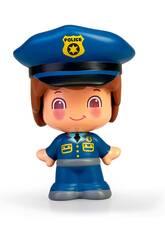 Pin y Pon figura professioni polizia Famosa 700016289