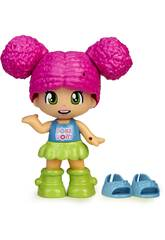 Pinypon Change My Shoes Figura Pelo Rosa Famosa 700016209